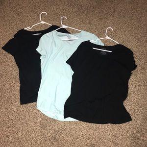 Three Basic Shirts